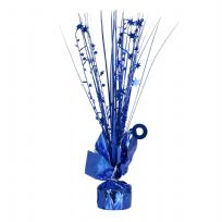 Royal Blue Spray Centrepiece